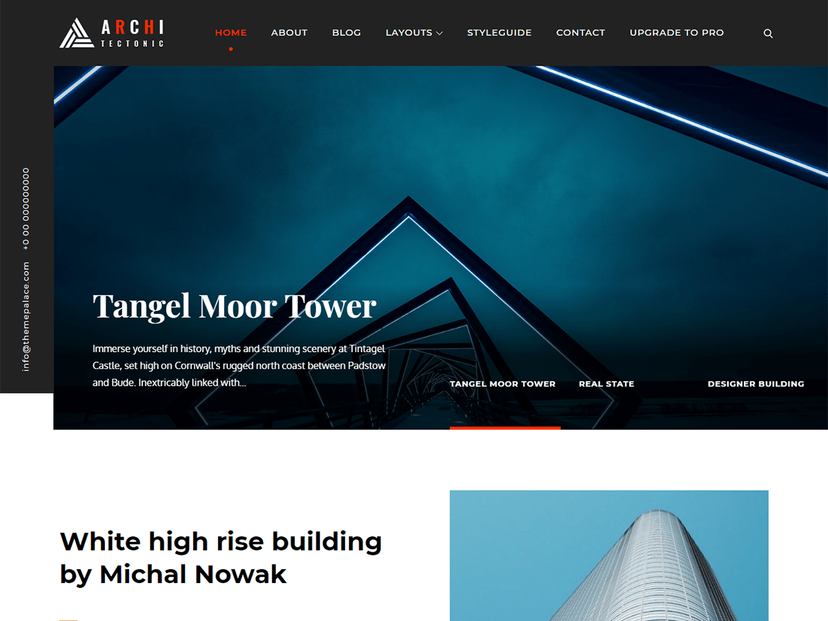 Architectonic Download Free Wordpress Theme 3
