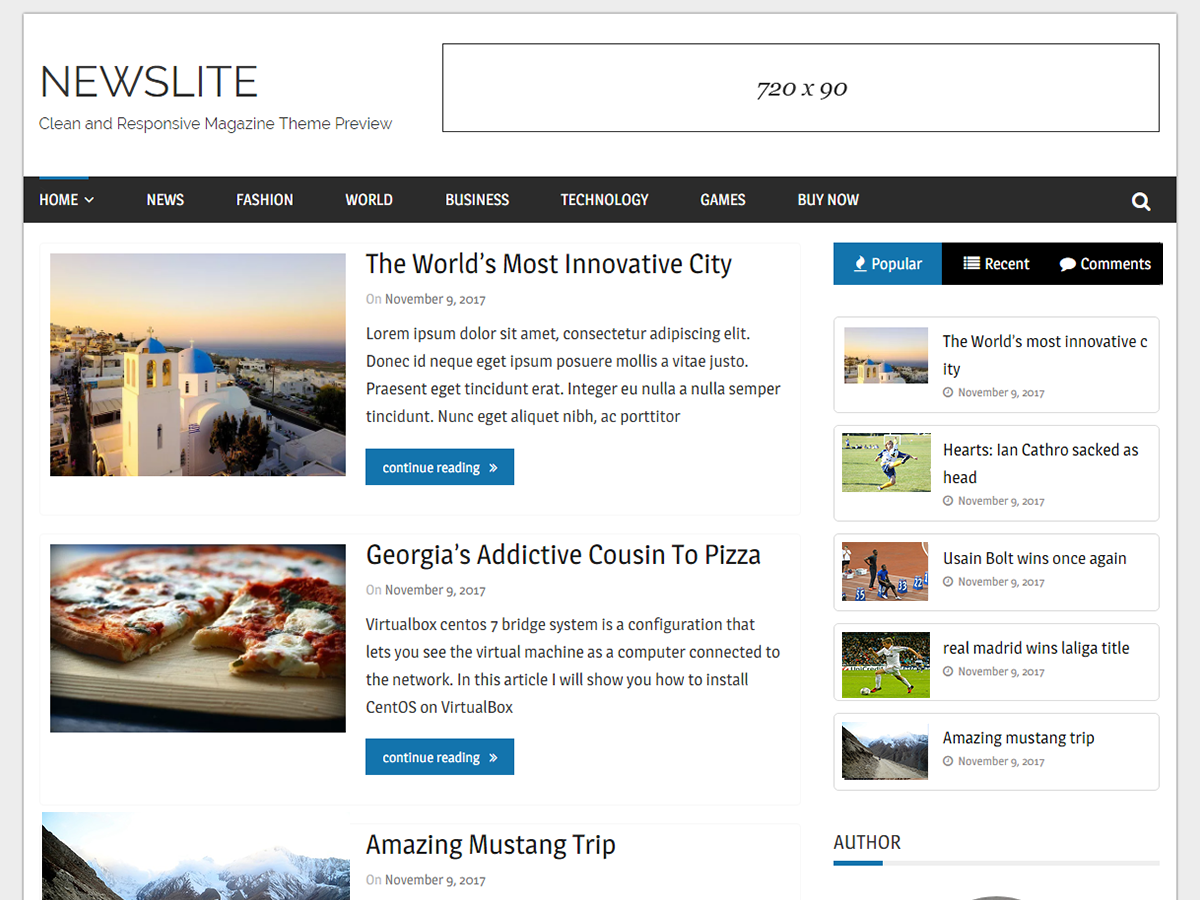 Newslite Download Free Wordpress Theme 4