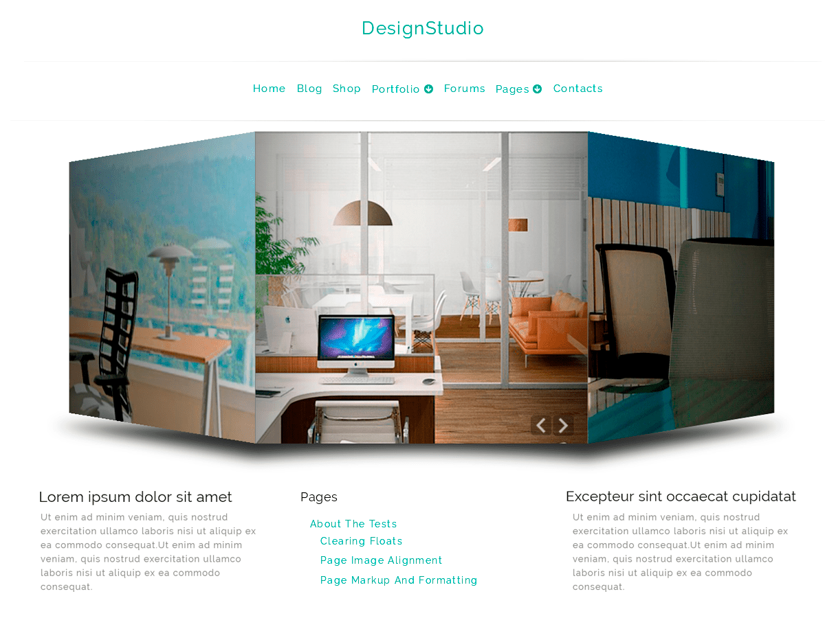 DesignStudio Download Free Wordpress Theme 5