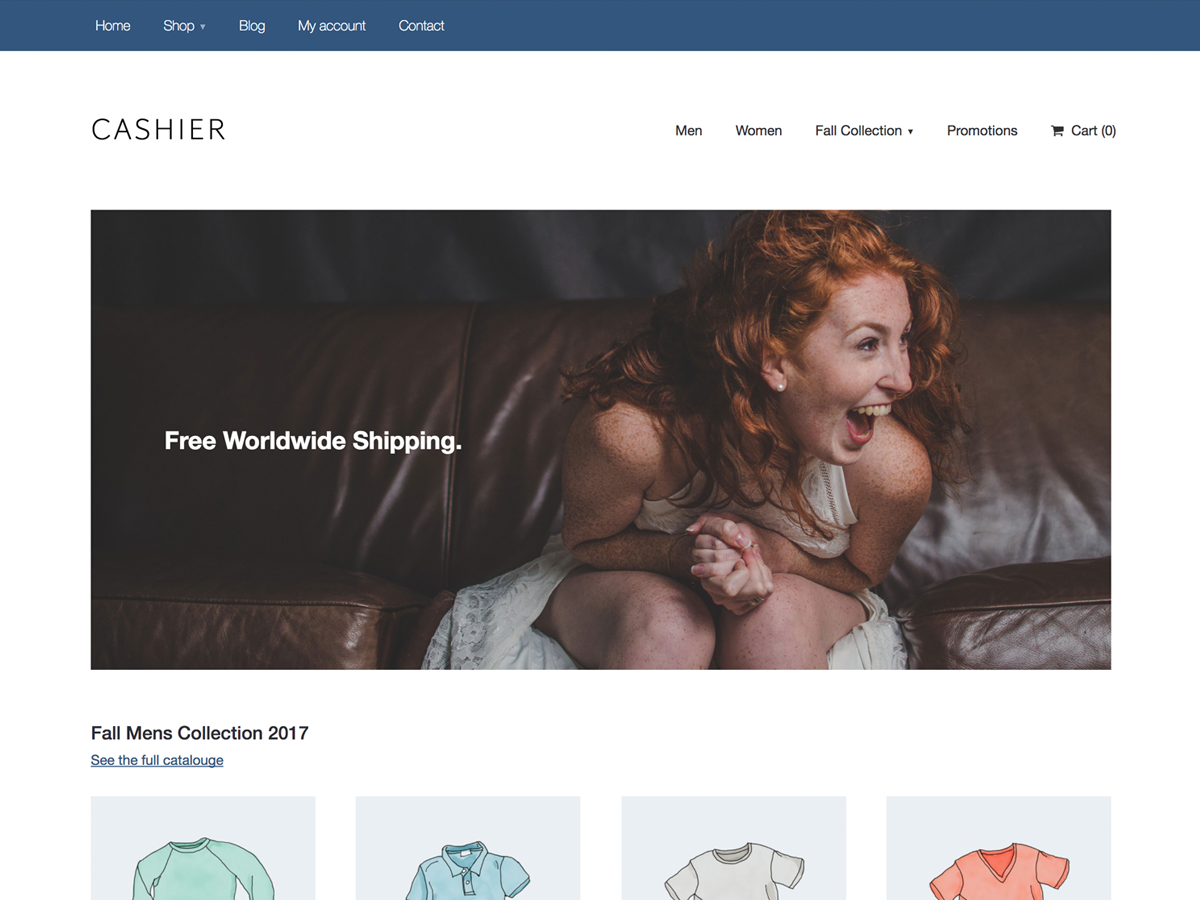 Cashier Download Free Wordpress Theme 2