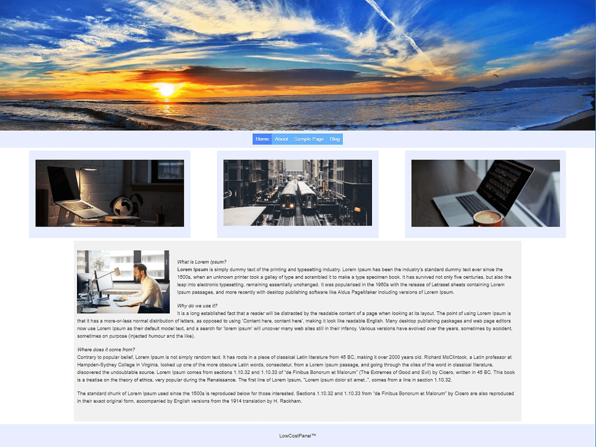LCP Stretch Download Free Wordpress Theme 2
