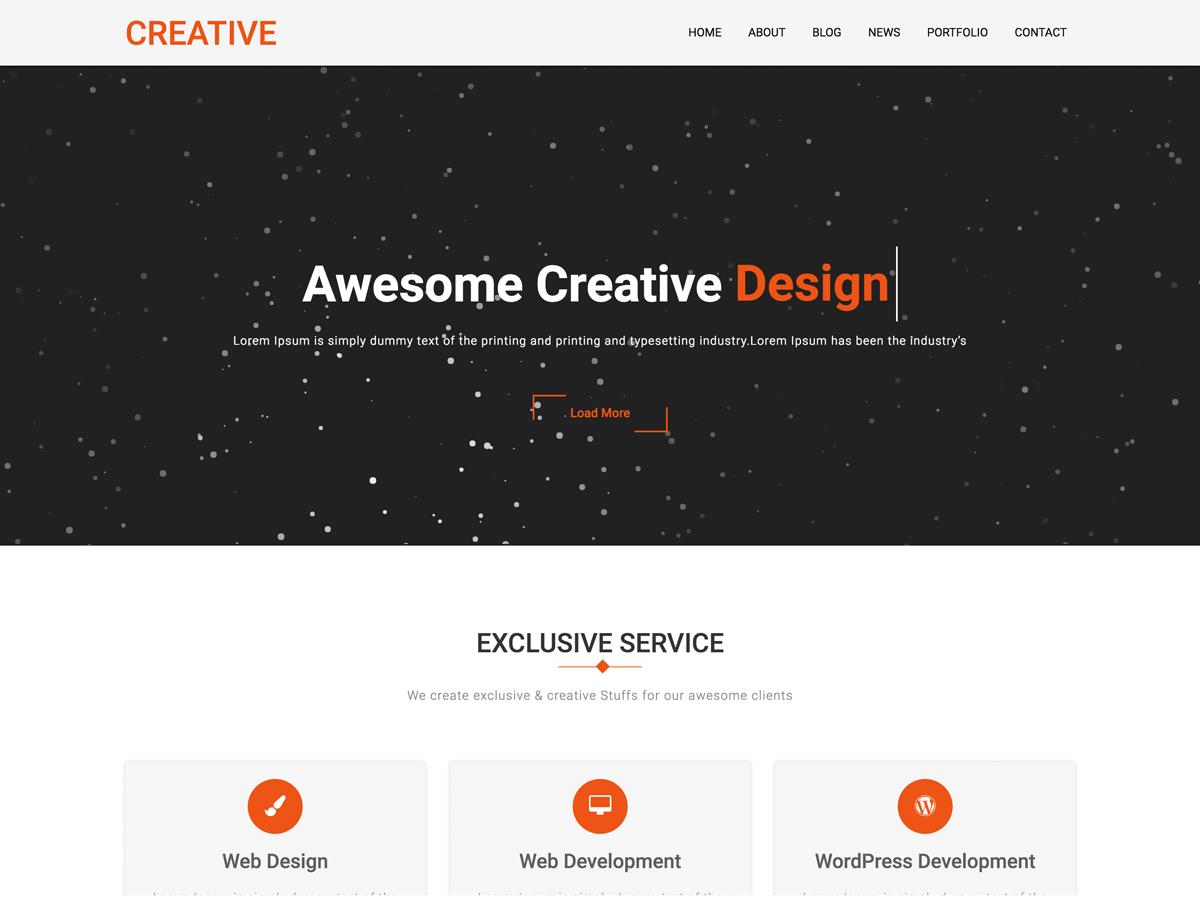 Creative Company Download Free Wordpress Theme 4