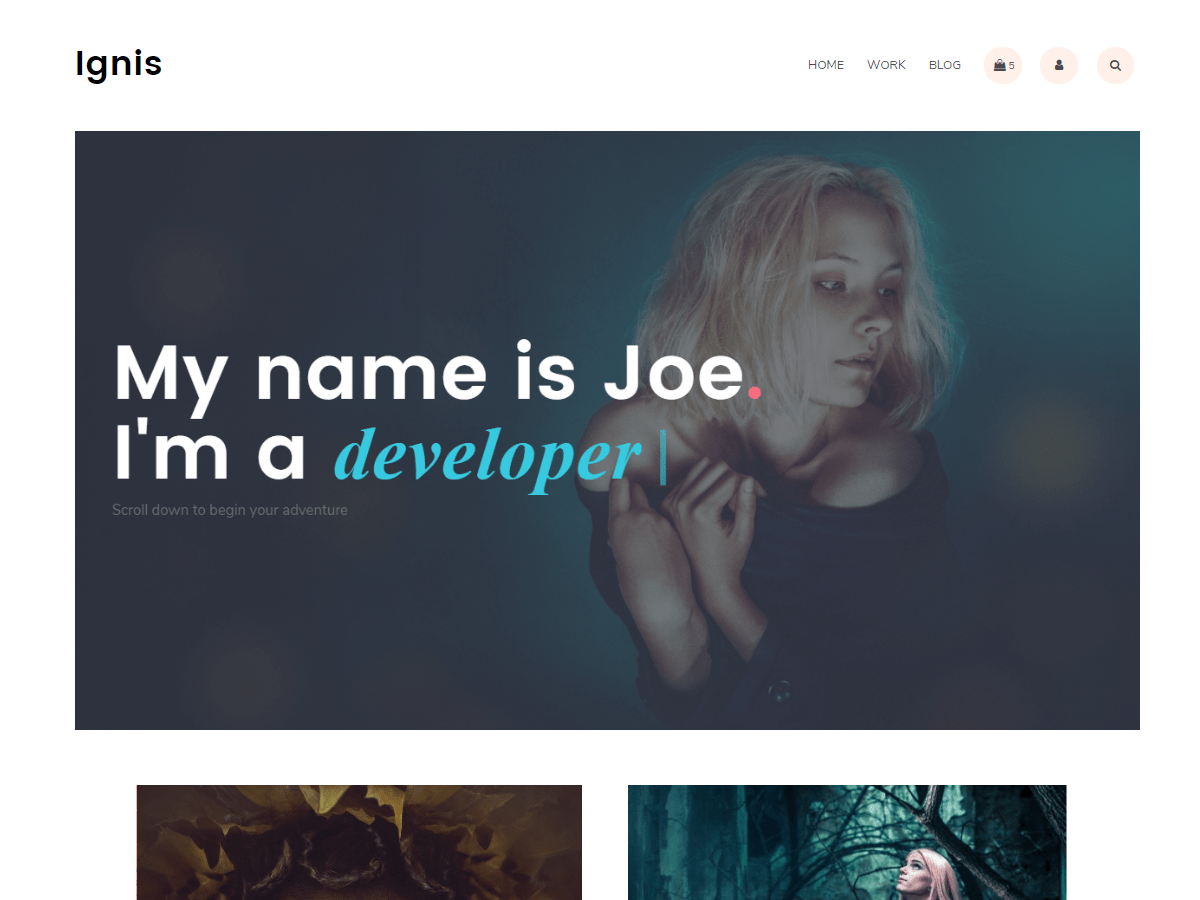Ignis Download Free Wordpress Theme 1