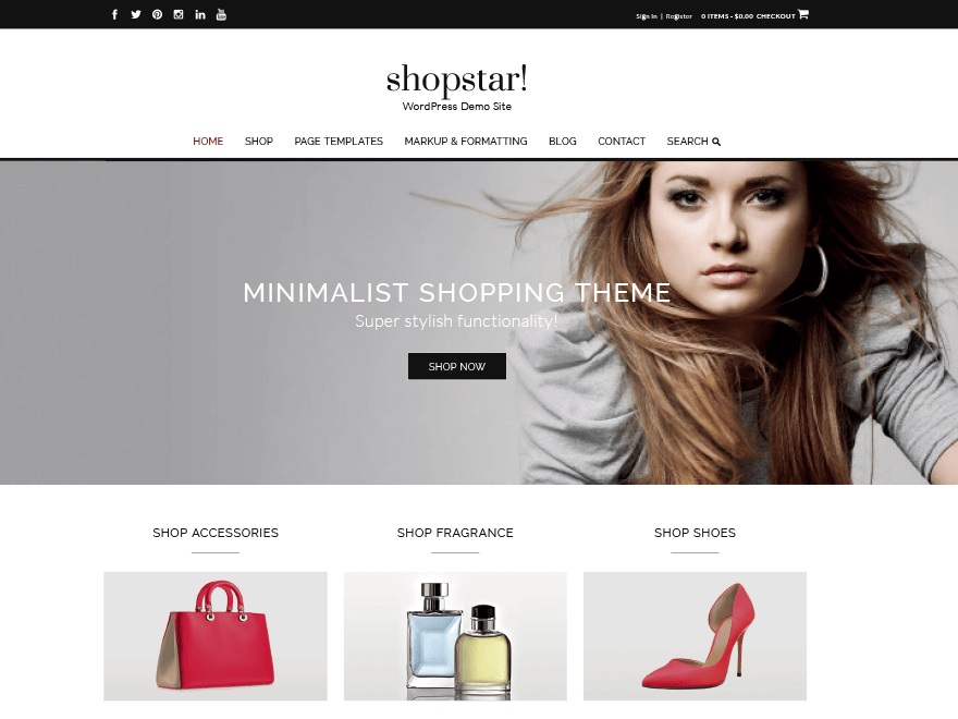 Shopstar Download Free Wordpress Theme 3
