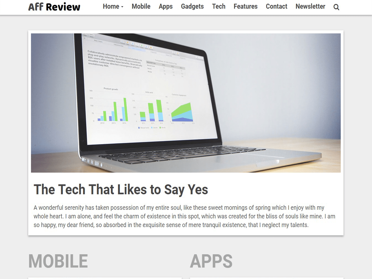 Tr Affreview Lite Download Free Wordpress Theme 3