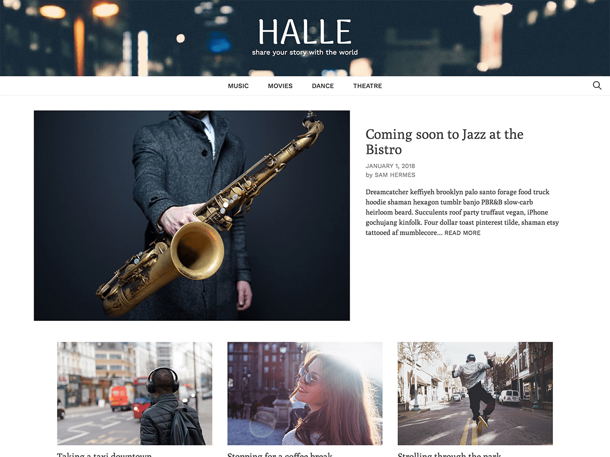 Halle Download Free Wordpress Theme 5