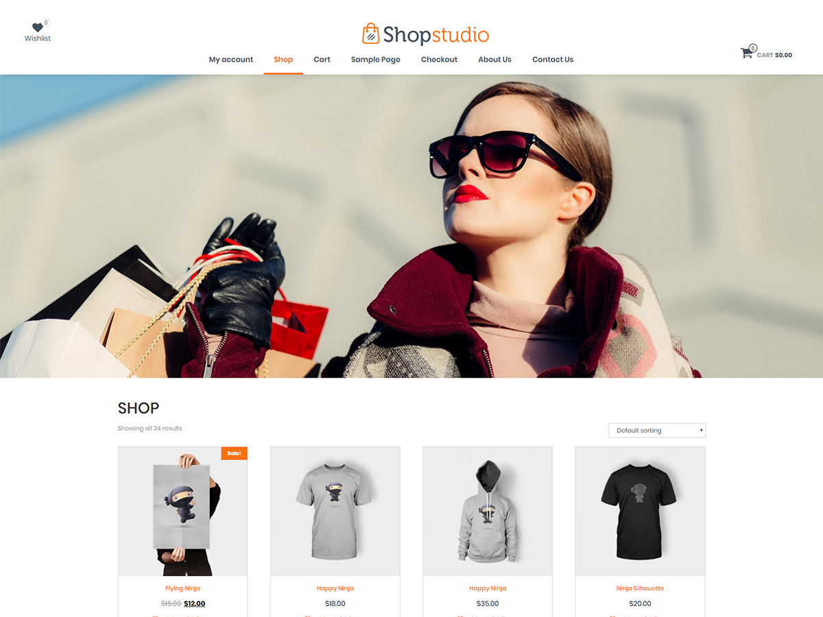shopstudio Download Free Wordpress Theme 5
