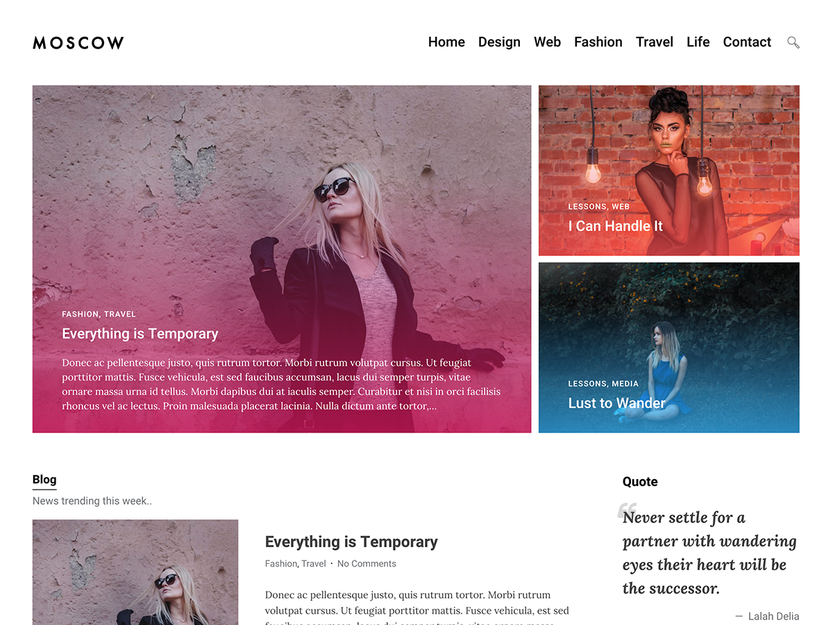 Moscow Download Free Wordpress Theme 3