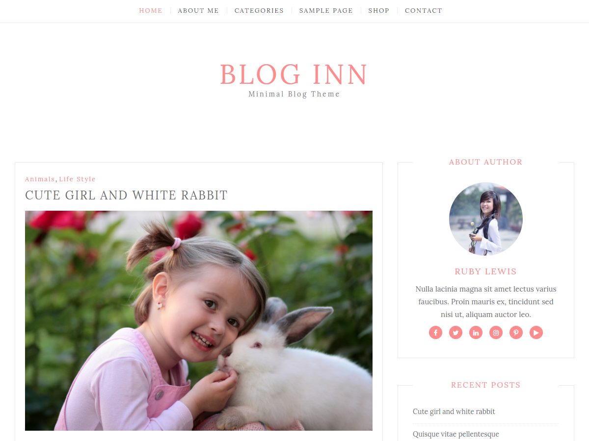 Blog Inn Download Free Wordpress Theme 1