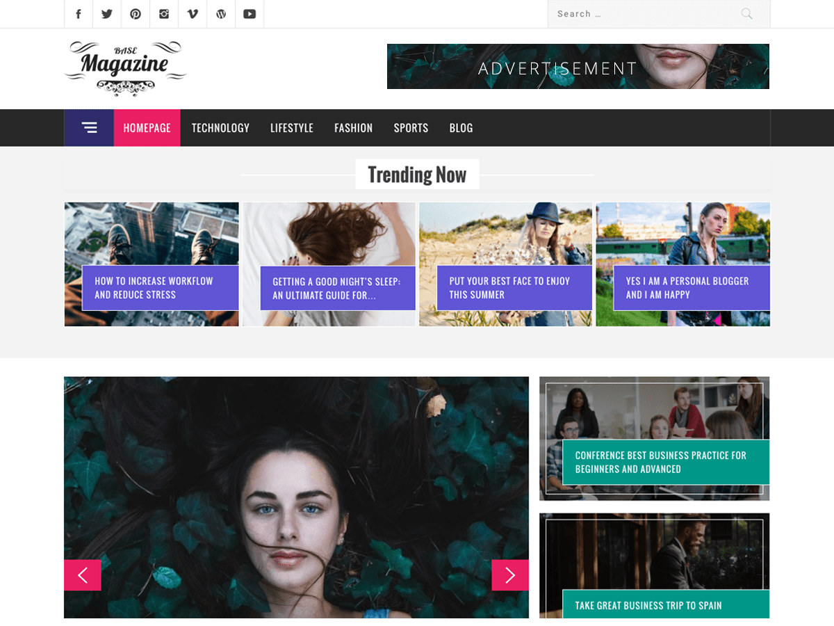 Magazine Base Download Free Wordpress Theme 4