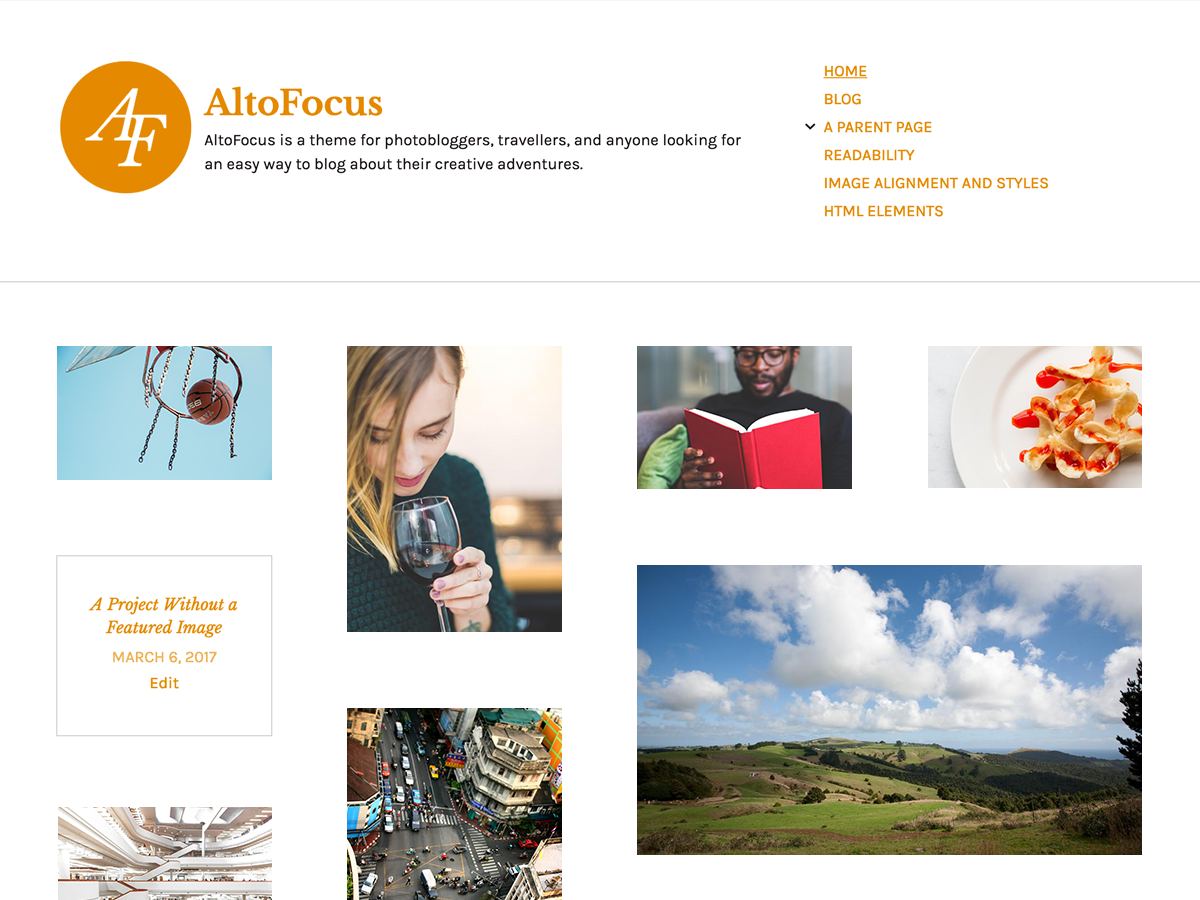 AltoFocus Download Free Wordpress Theme 1
