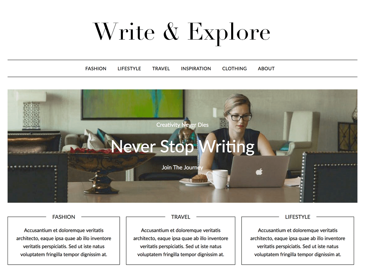 MinimalistBlogger Download Free Wordpress Theme 1