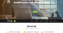 OnePage Parallax Download Free WordPress Theme