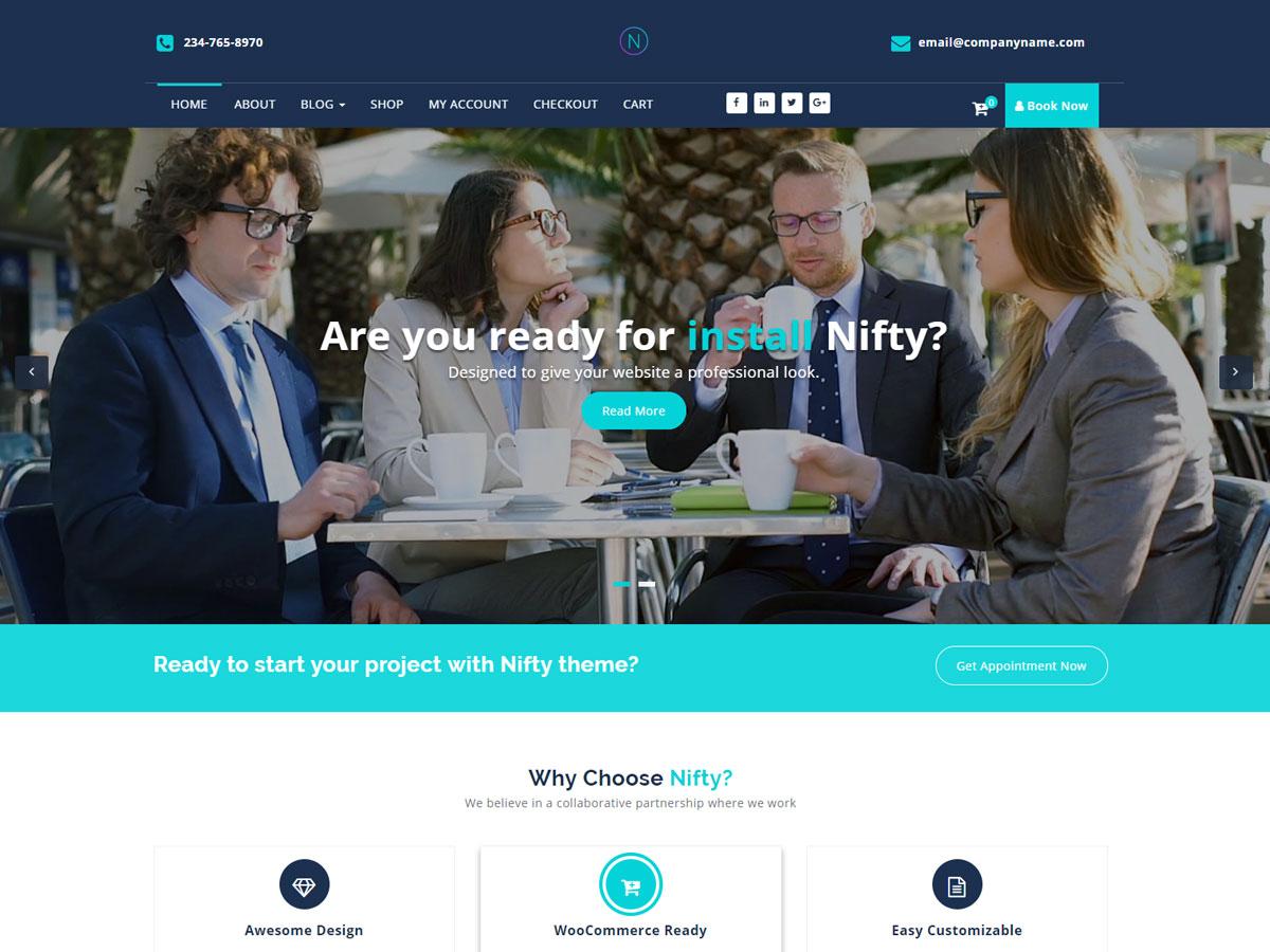 Nifty Lite Download Free Wordpress Theme 1