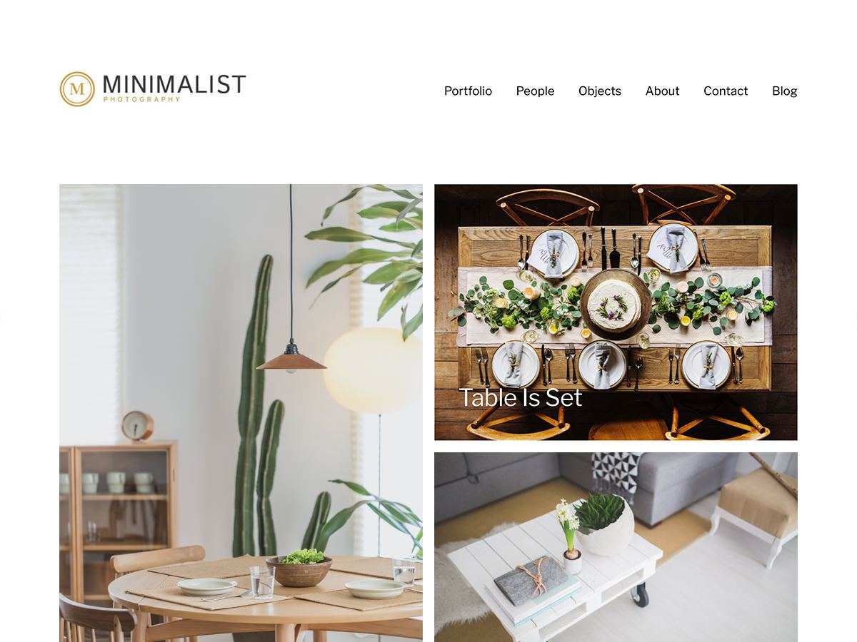 Minimalist Portfolio Download Free Wordpress Theme 1