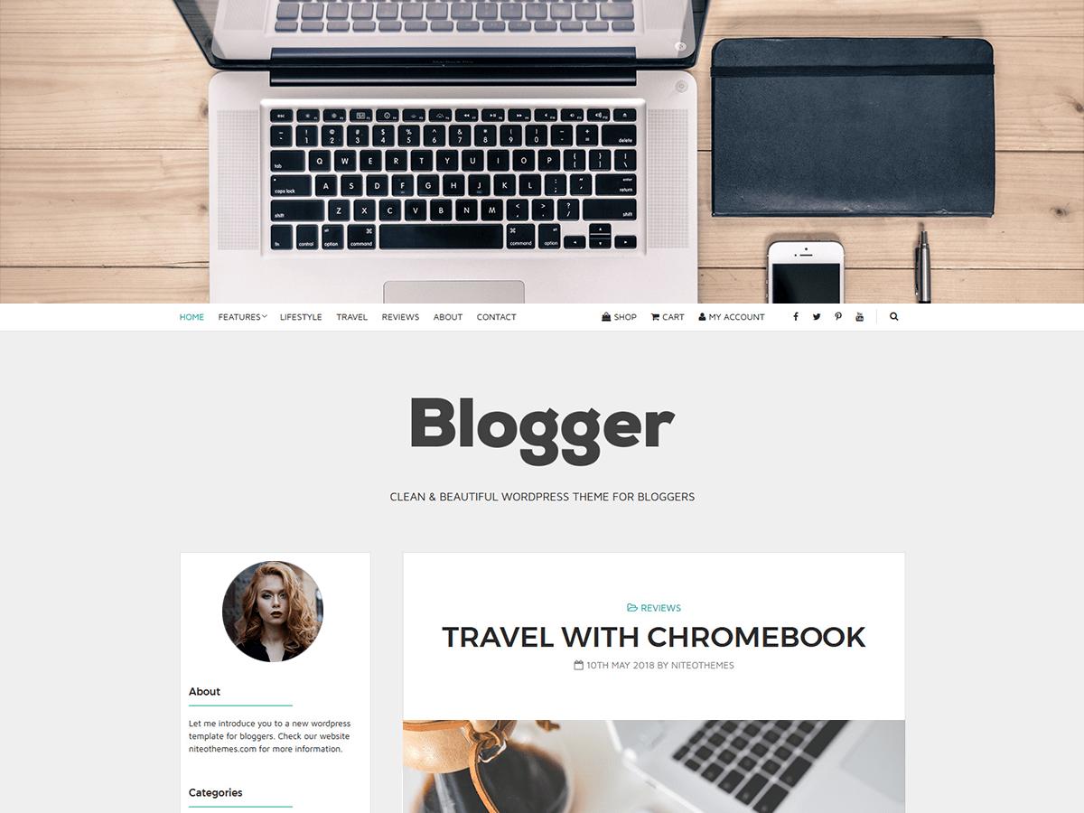 Blogger Light Download Free Wordpress Theme 1