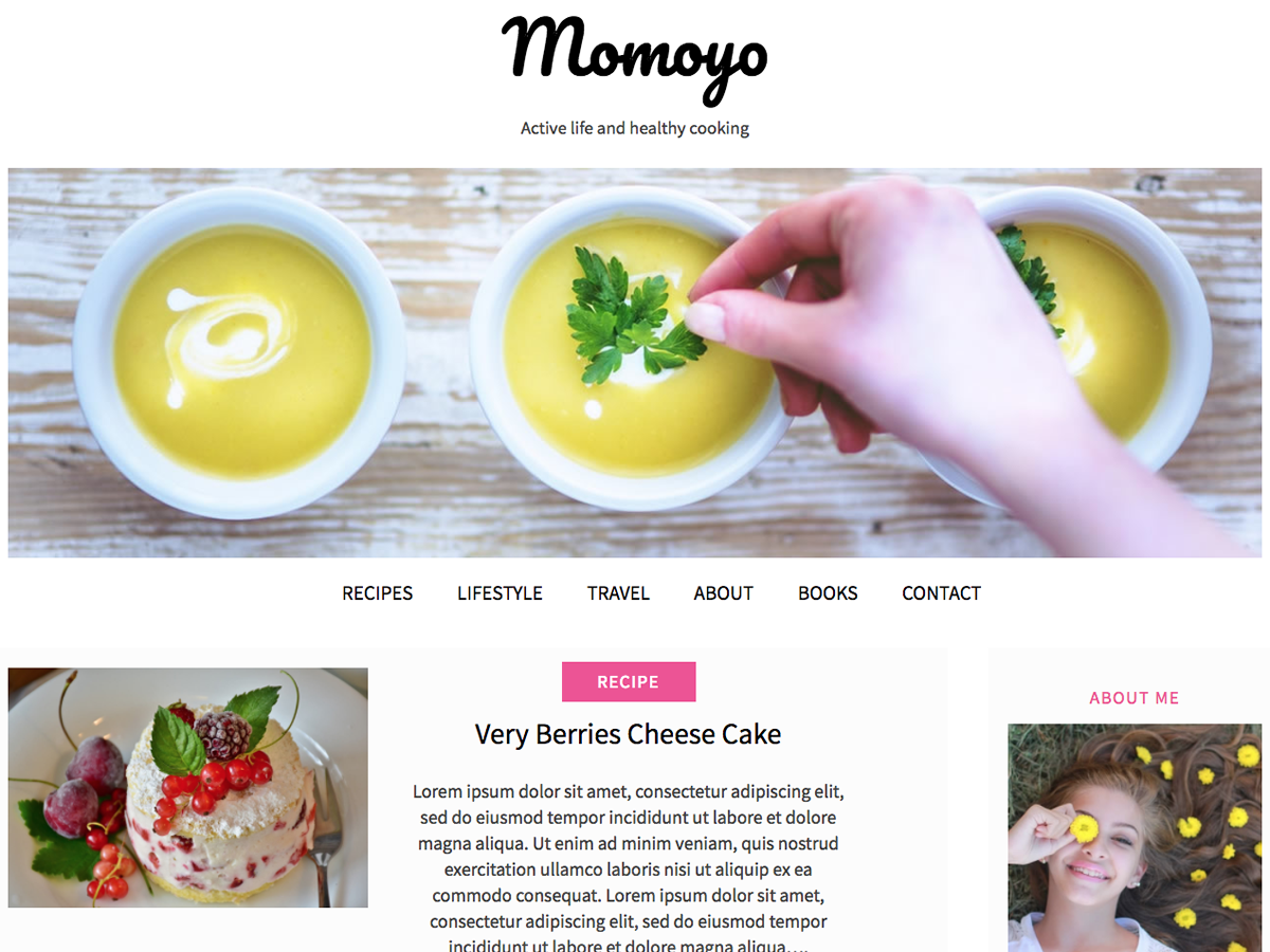 momoyo Download Free Wordpress Theme 5