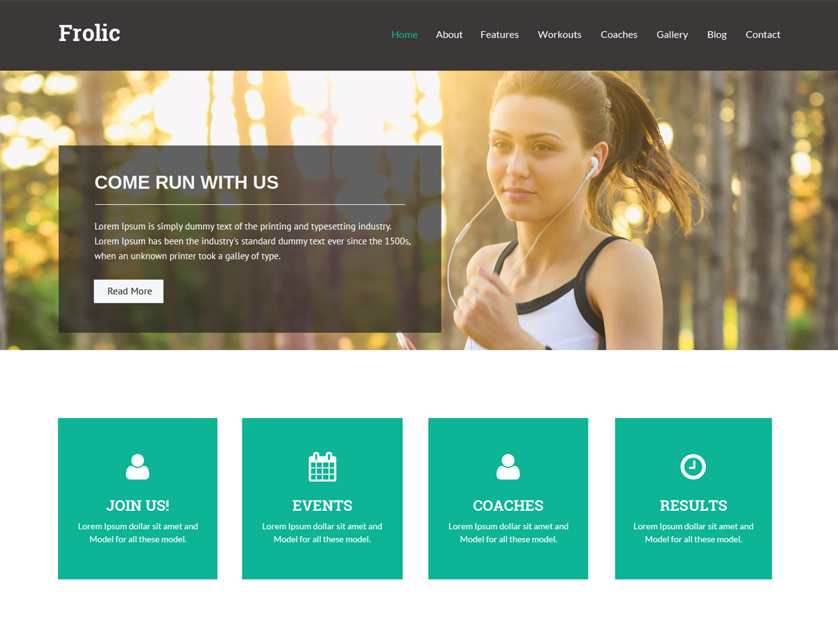 Frolic Download Free Wordpress Theme 3