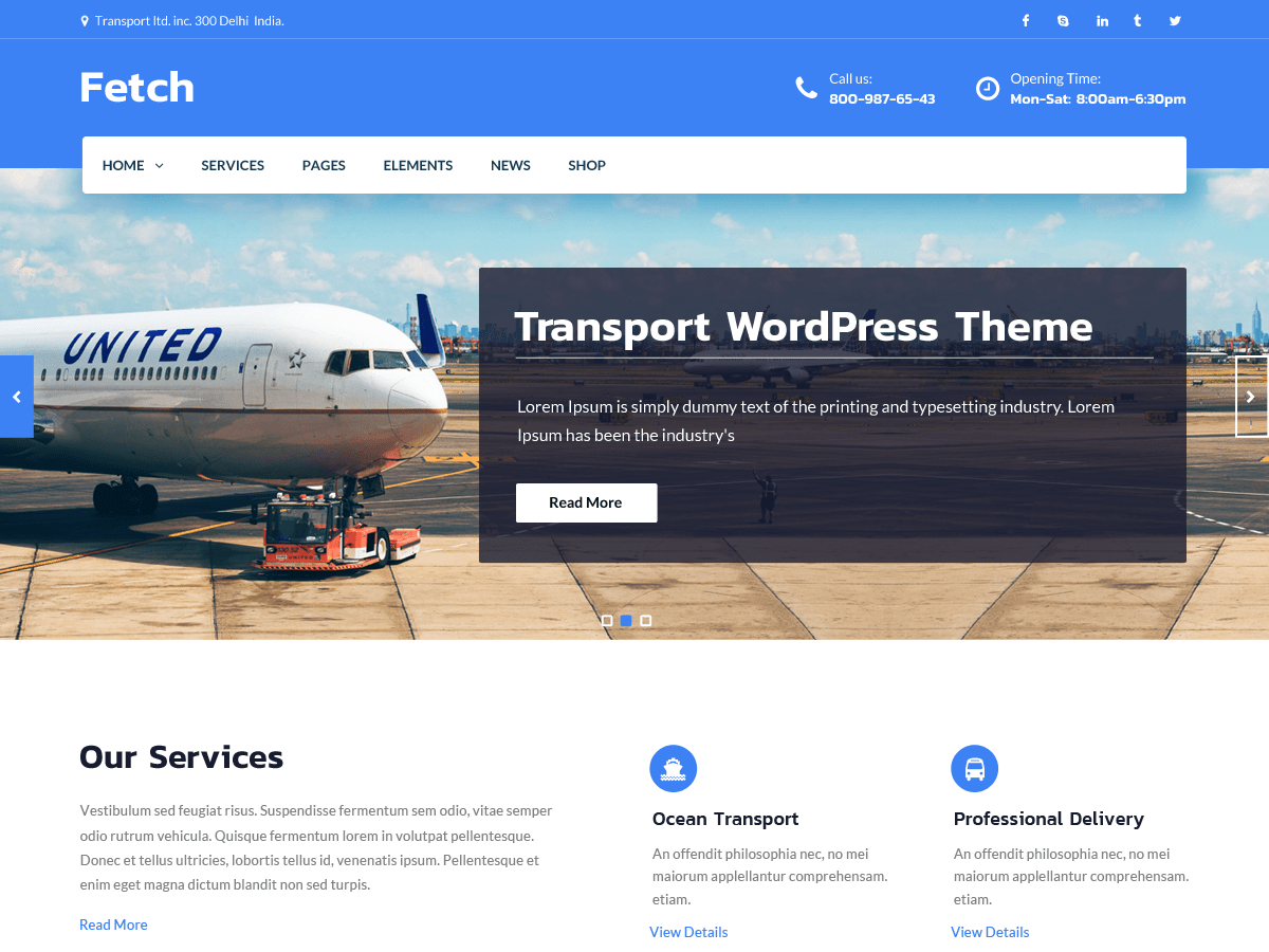 Fetch Download Free Wordpress Theme 3