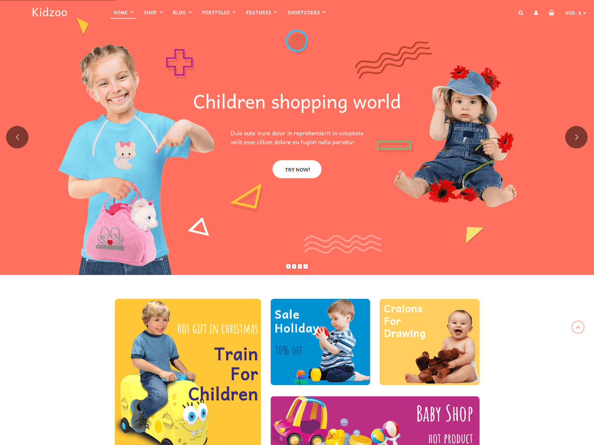 Kidzoo Lite Download Free Wordpress Theme 4