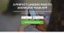 App Landing Page Download Free WordPress Theme