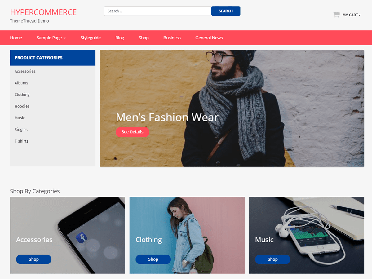 Hyper Commerce Download Free Wordpress Theme 1