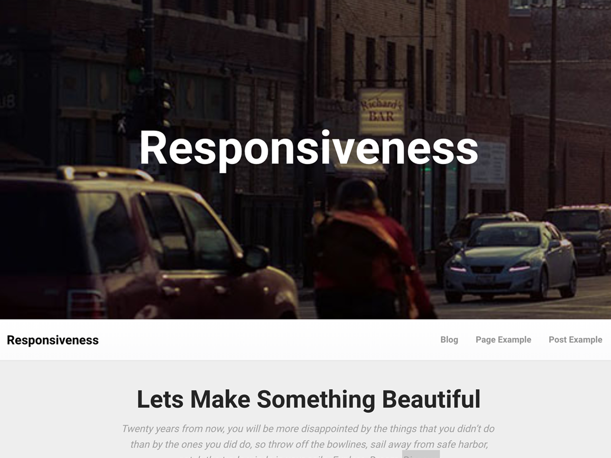 Responsiveness Download Free Wordpress Theme 5