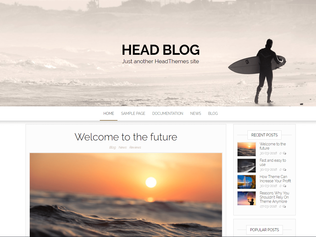Head Blog Download Free Wordpress Theme 3