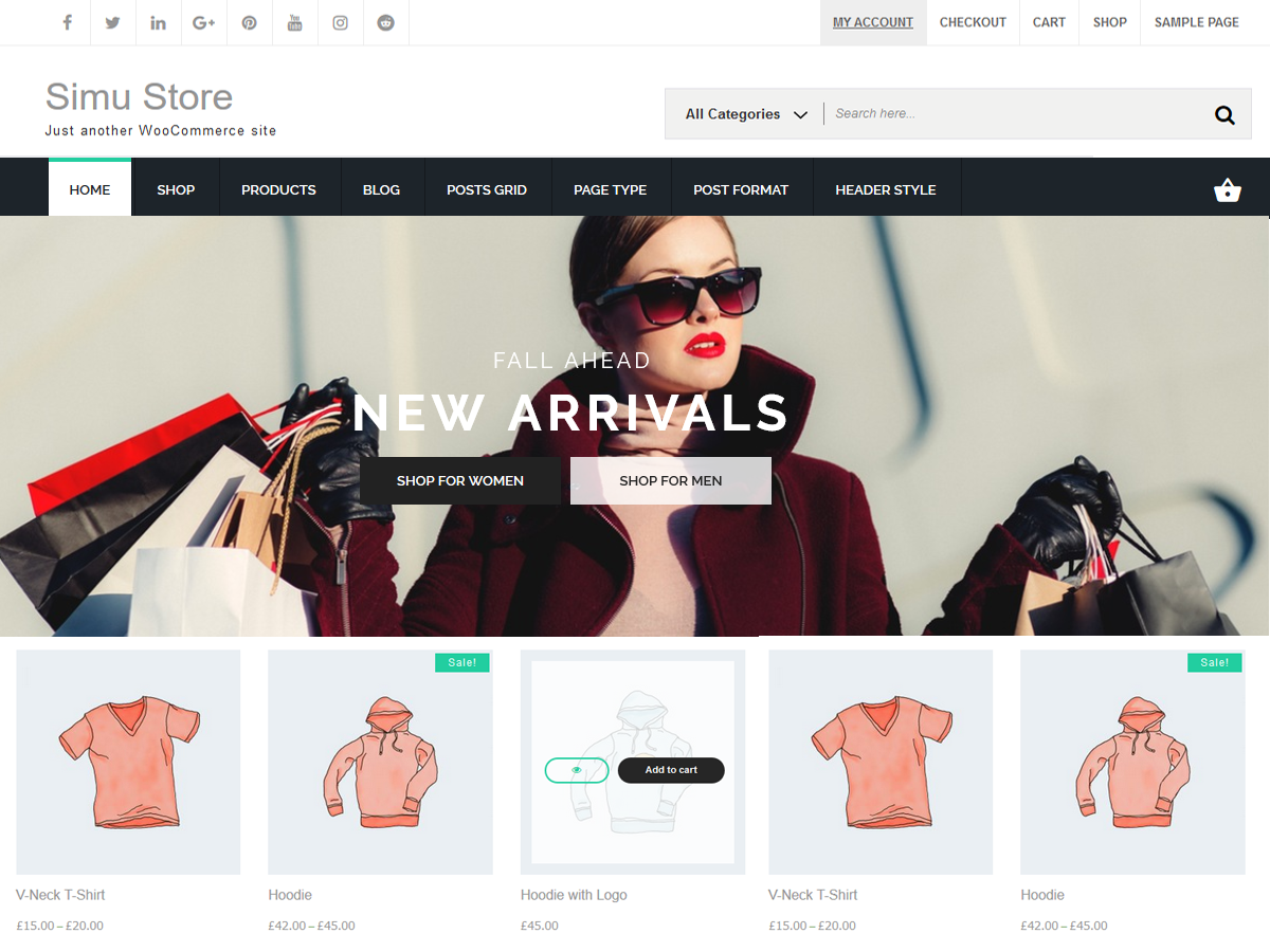 Simu Store Download Free Wordpress Theme 5