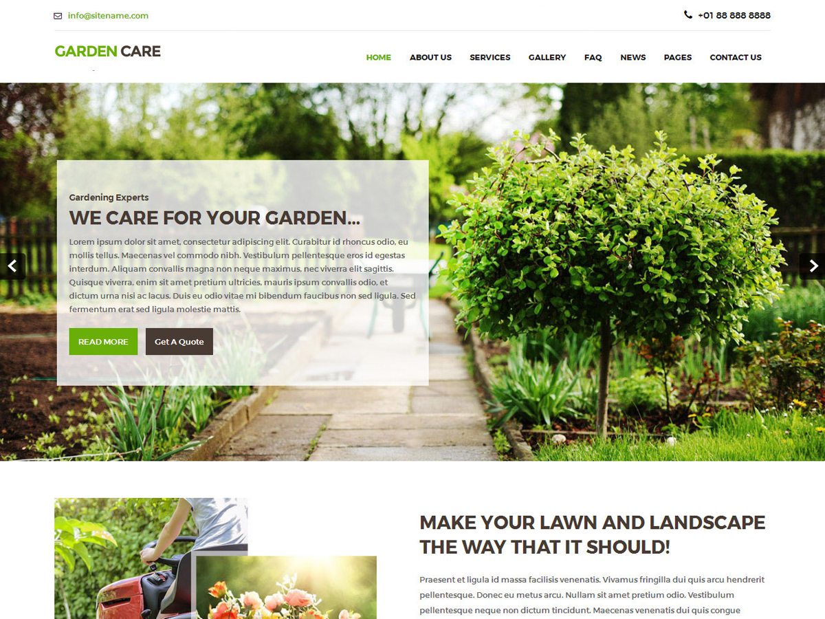 Greenhouse Download Free Wordpress Theme 5
