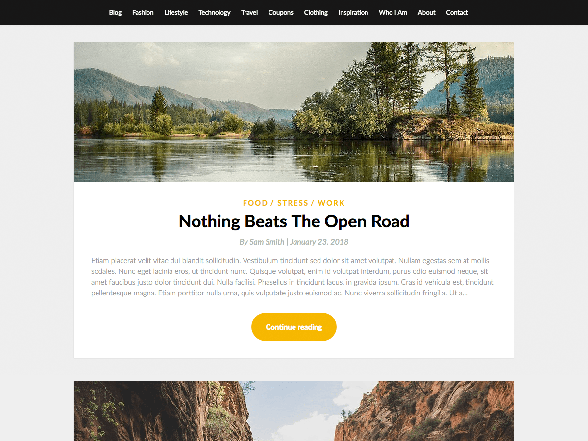 SimpleBlogily Download Free Wordpress Theme 2