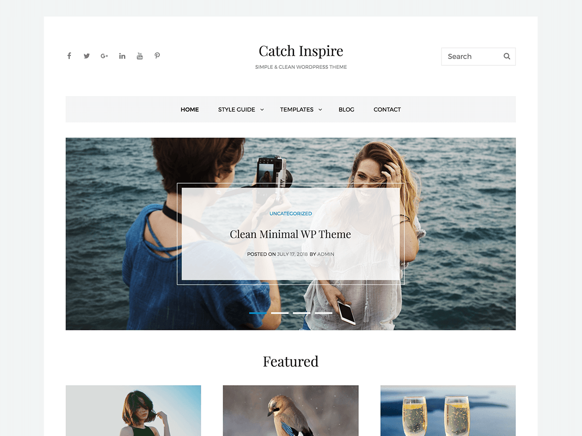 Catch Inspire Download Free Wordpress Theme 2