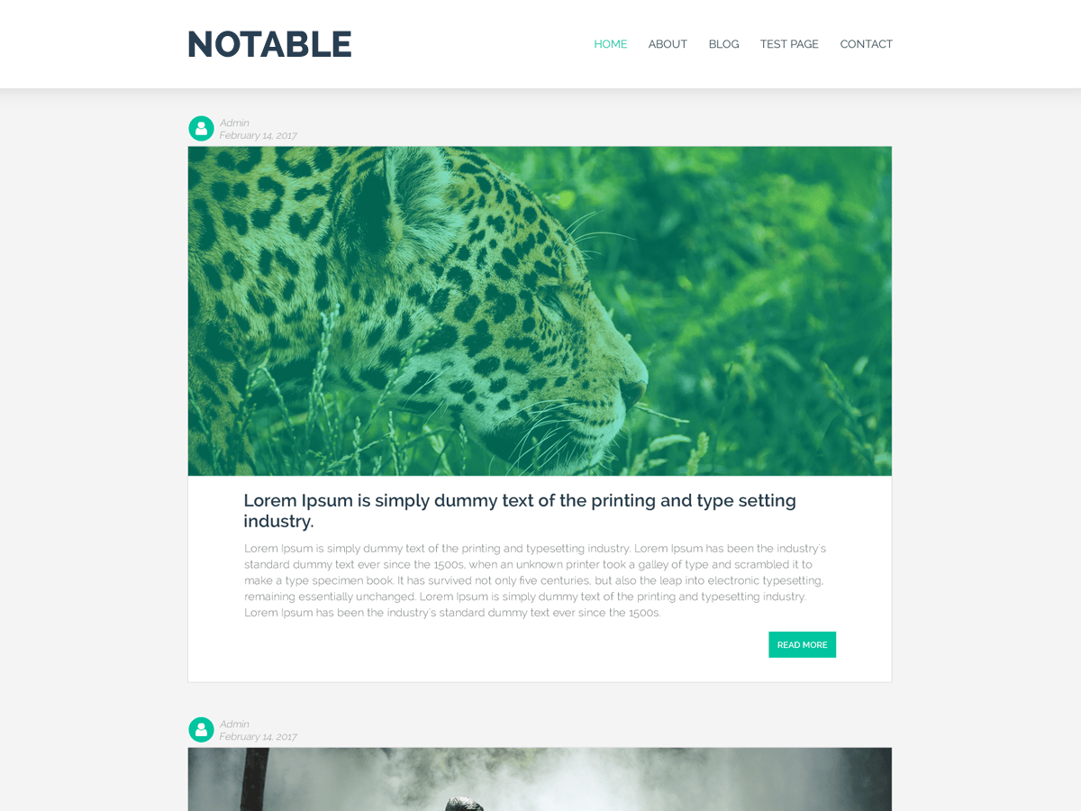 Notable Download Free Wordpress Theme 4
