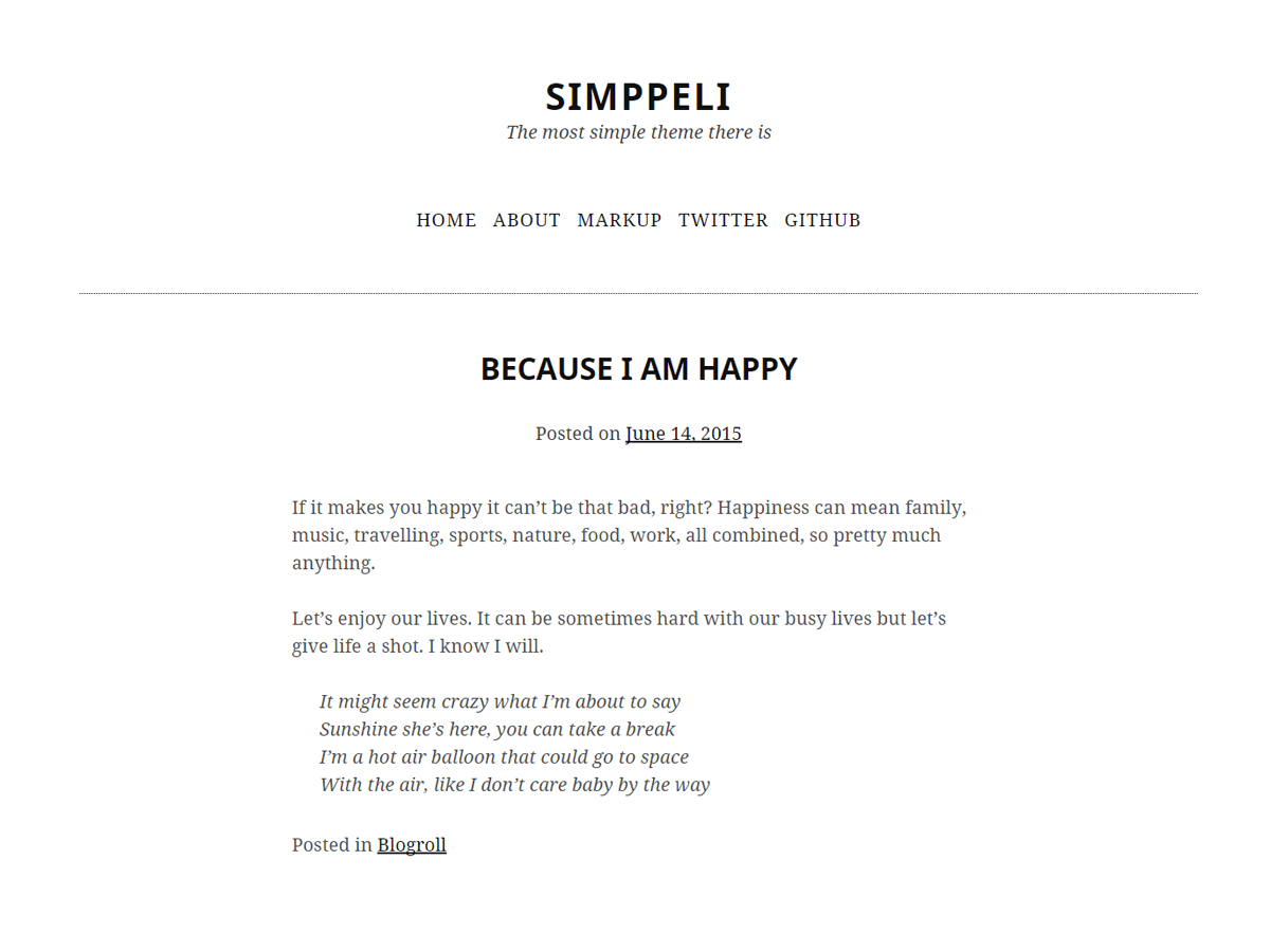 Simppeli Download Free Wordpress Theme 2