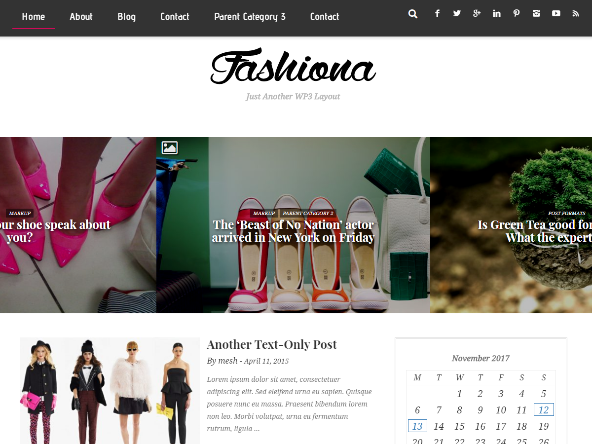 Fashiona Download Free Wordpress Theme 1
