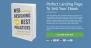 Book Landing Page Download Free WordPress Theme