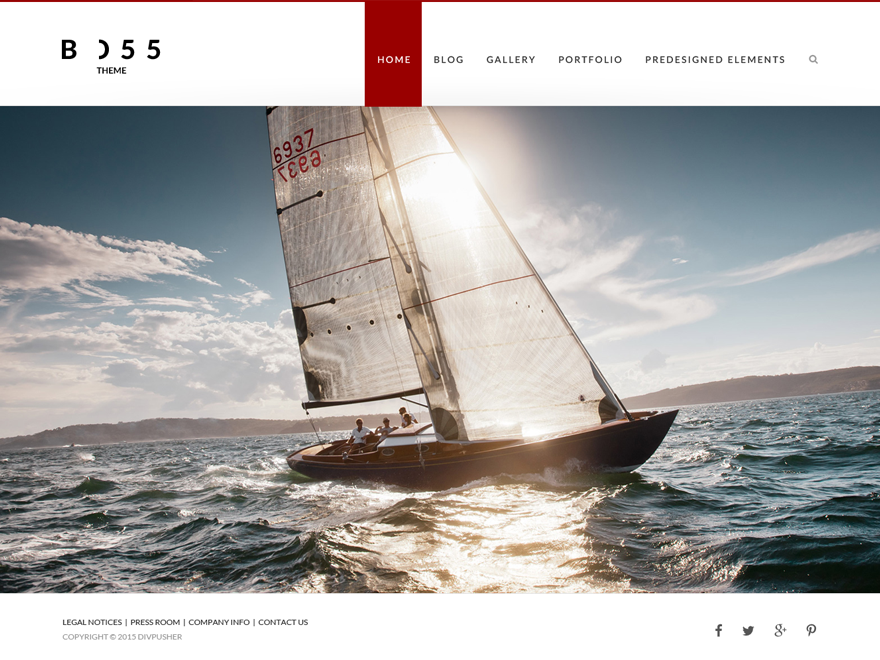 BOSS Download Free Wordpress Theme 1