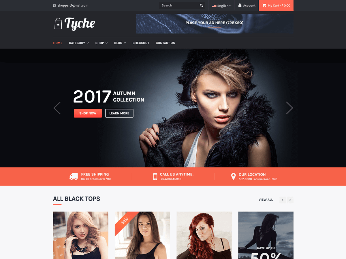 Tyche Download Free Wordpress Theme 3
