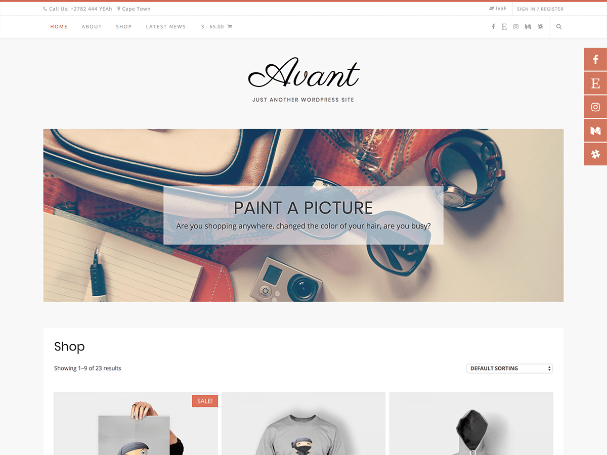 Avant Download Free Wordpress Theme 5