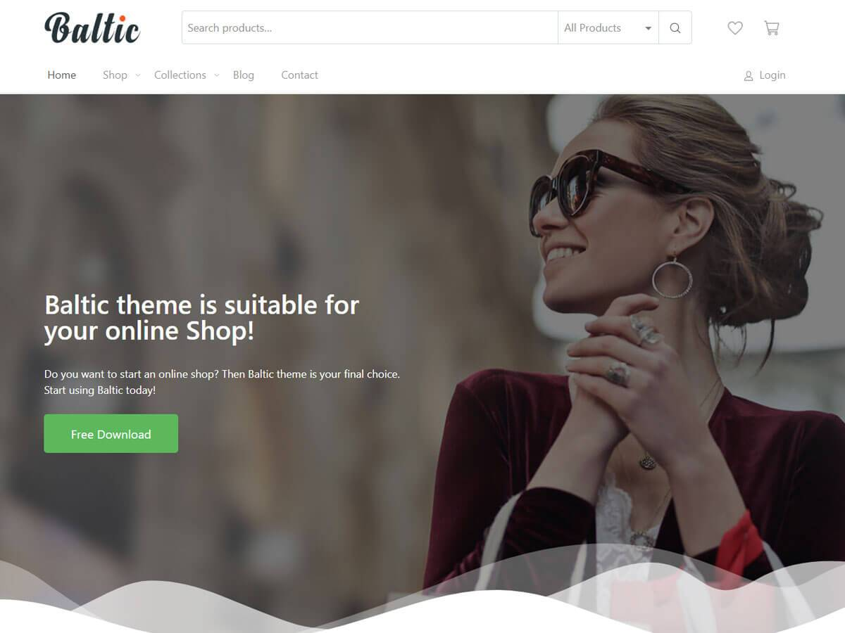 Baltic Download Free Wordpress Theme 1