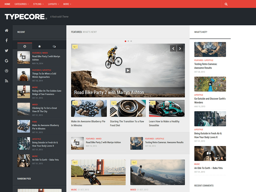 Typecore Download Free Wordpress Theme 5