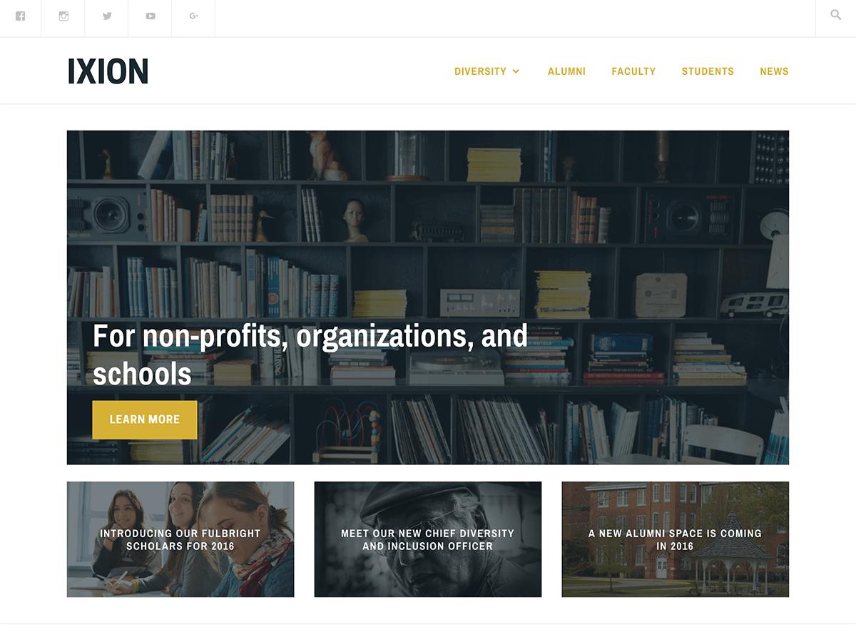 Ixion Download Free Wordpress Theme 4