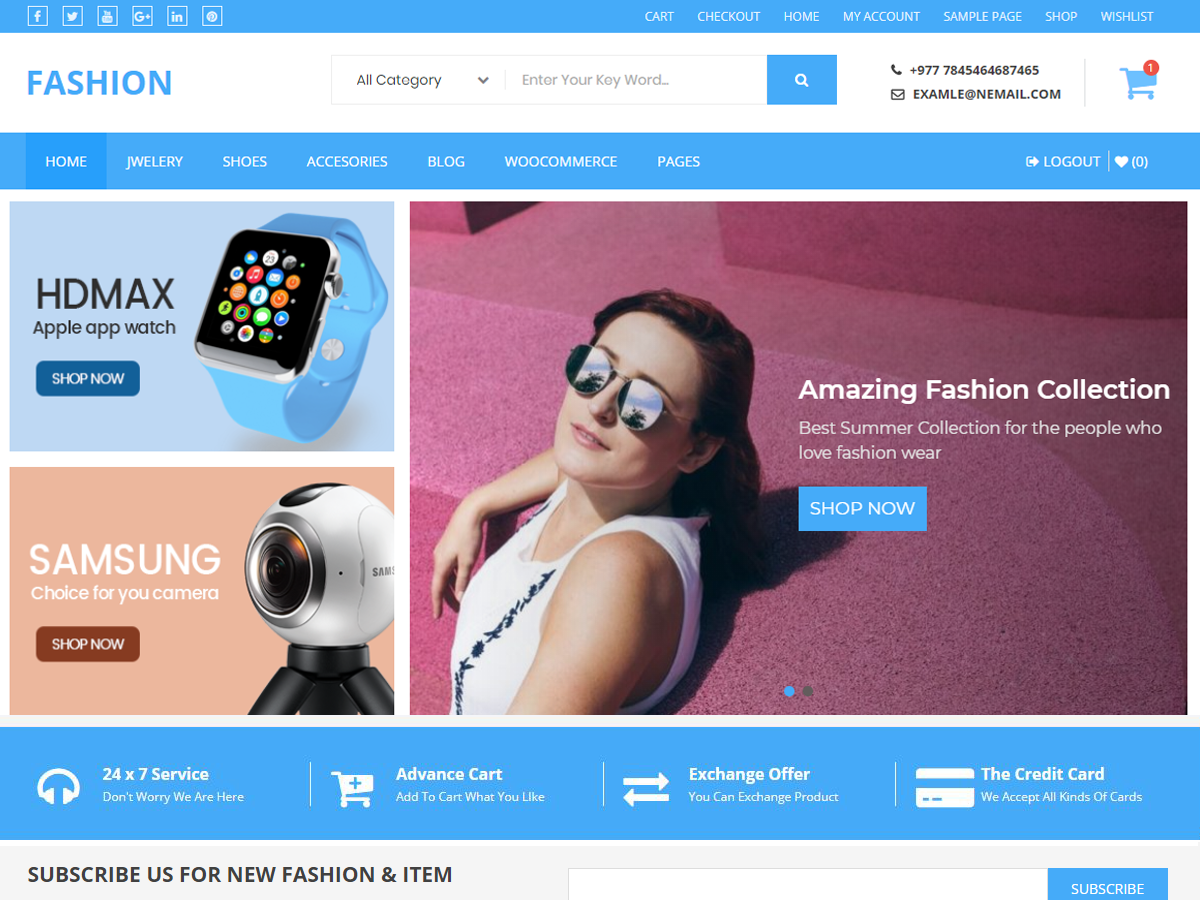 Buzstores Download Free Wordpress Theme 1