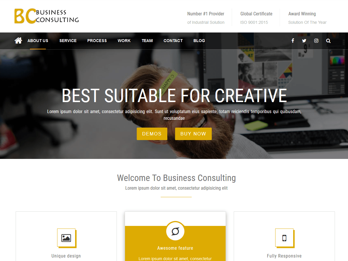 BC Business Consulting Download Free Wordpress Theme 1