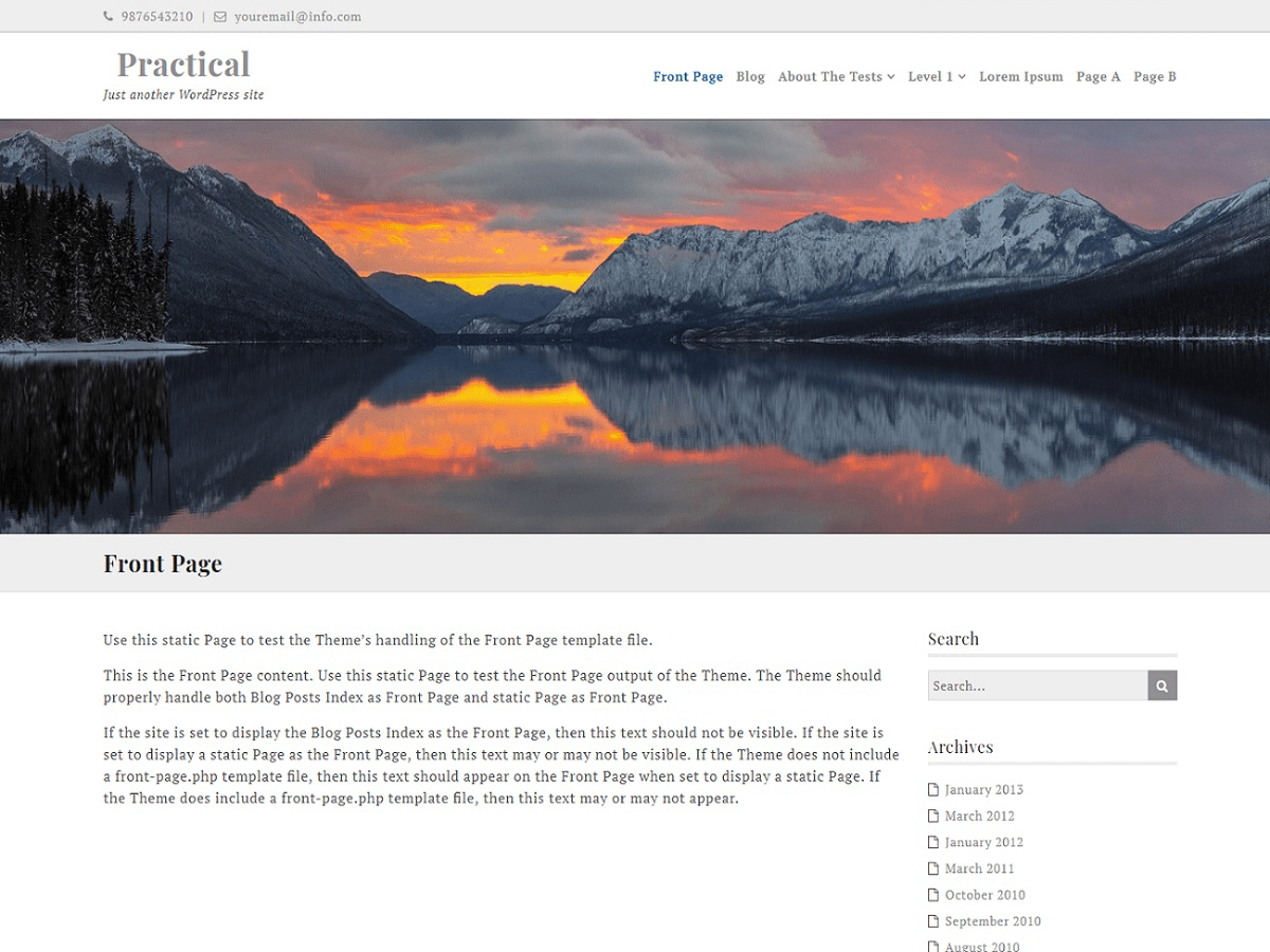 Ef Practical Download Free Wordpress Theme 1