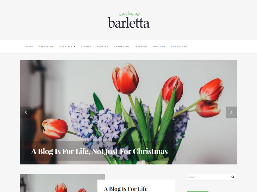 Barletta Download Free Wordpress Theme 2