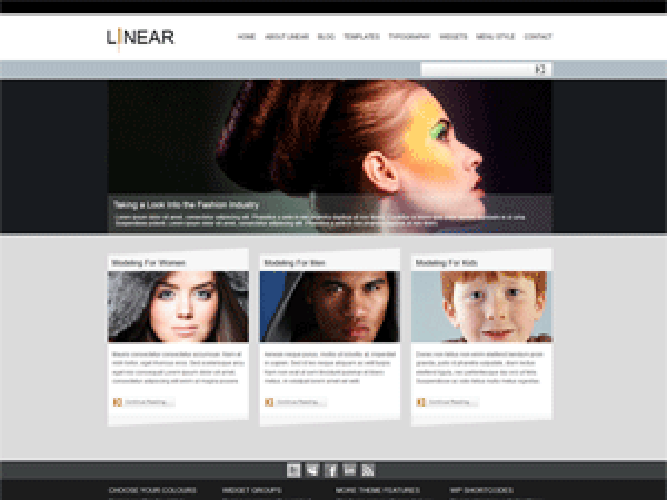 Pixel-Linear Download Free Wordpress Theme 5