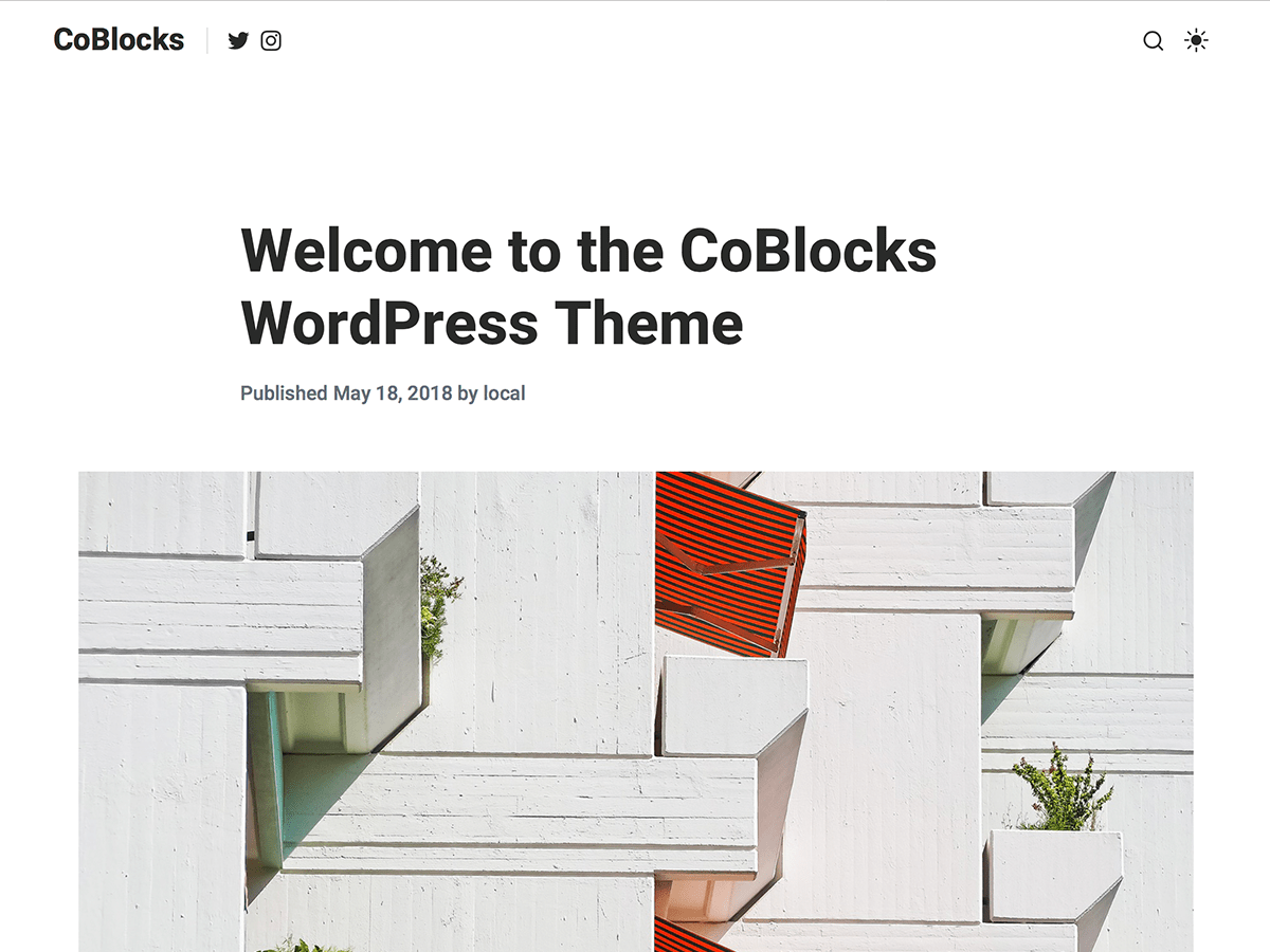 CoBlocks Download Free Wordpress Theme 1