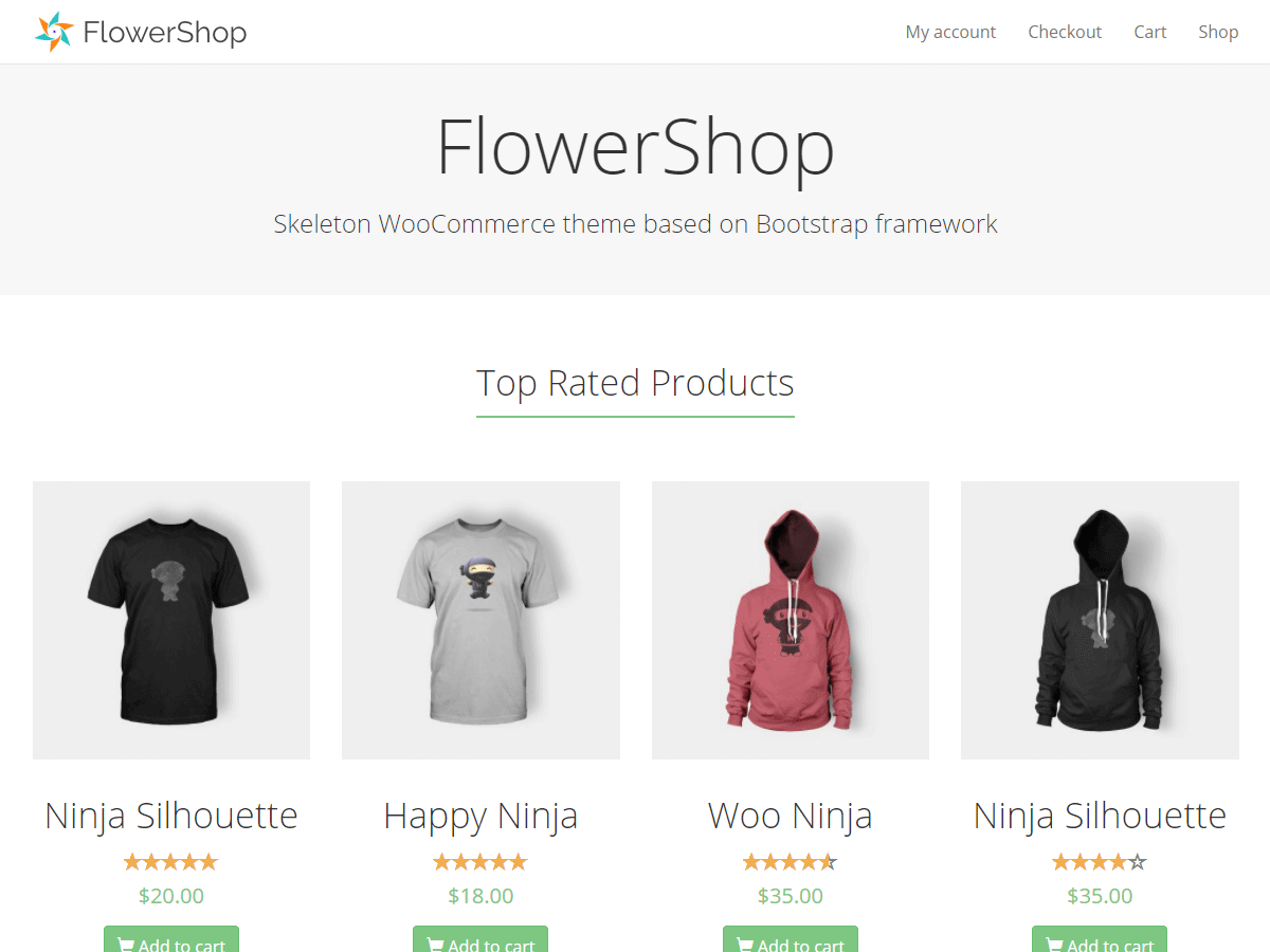 FlowerShop Download Free Wordpress Theme 5