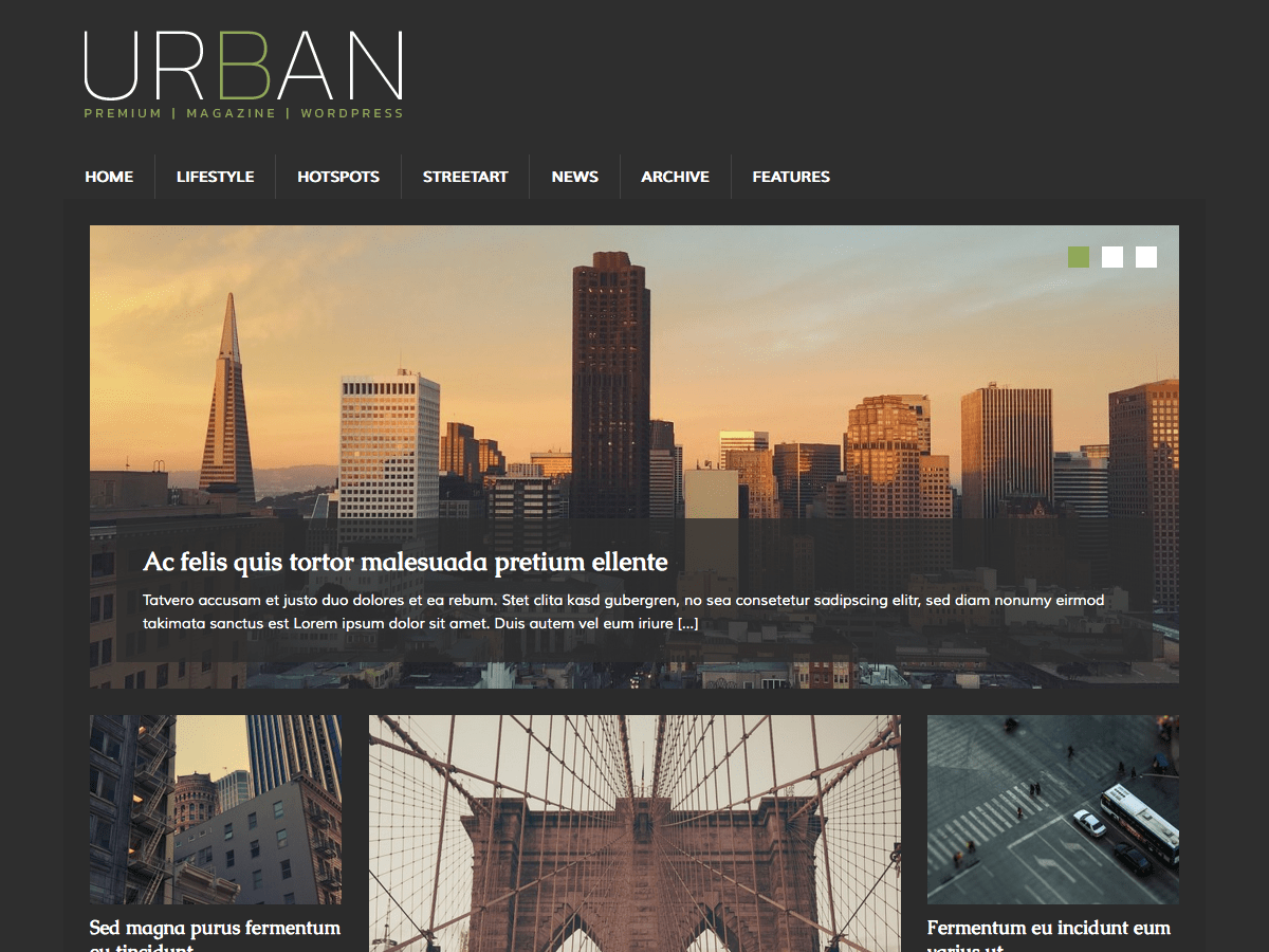 MH UrbanMag Download Free Wordpress Theme 2
